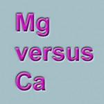 Equality of Mg & Ca