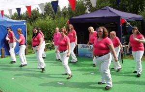 Line Dancing - good exercise