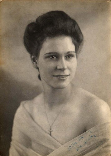 My Mum during the war years.