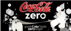 Zero Coke with Aspartame