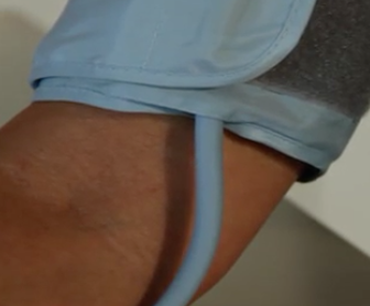 BP cuff fitting