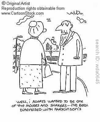 parkinson's cartoon