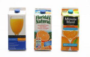 fortified orange juice