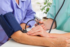 blood pressure test