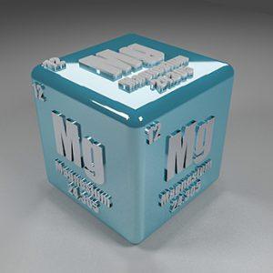 Mg cube