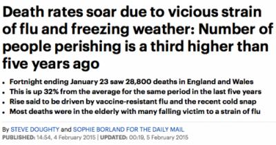 flu headline