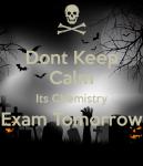 chemistry exam