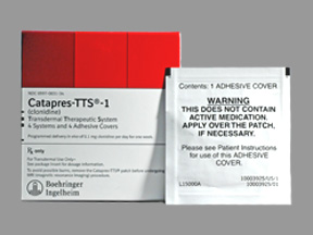 clonidine patches