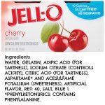 jello warning
