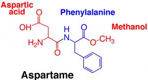 aspartame diagram