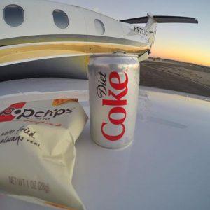diet coke & plane