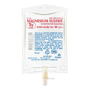 Mg Sulphate