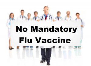 no flu vaccine