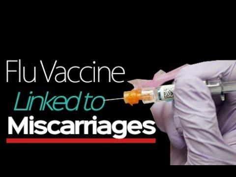 flu shot miscarriage